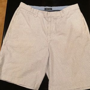 Nautica Men's Seersucker Shorts Sz 33